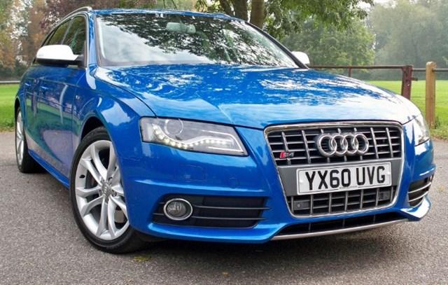 used Audi S4 Avant T FSi Quattro [330] (STUNNING !! SAT NAV+ !!) in chertsey-surrey