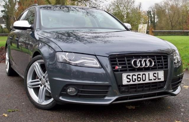 used Audi S4 Avant T FSi Quattro [340] (SAT NAV+ !! HUGE SPEC !!) in chertsey-surrey