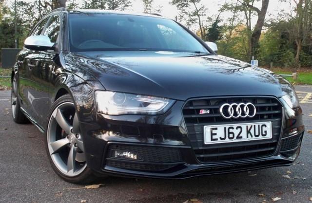 used Audi S4 Avant T FSi Quattro Black Edition [333] (HUGE SPEC !!) in chertsey-surrey
