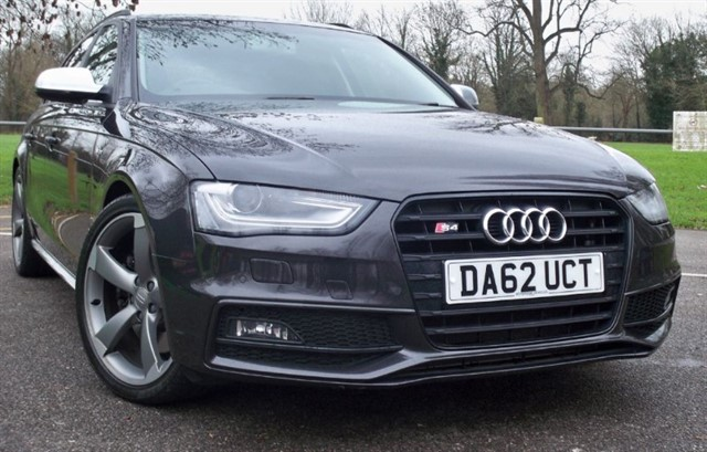 used Audi S4 Avant T FSi Quattro Black Edition [333] (HUGE SPEC !! READ THIS AD !!) in chertsey-surrey