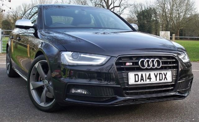 used Audi S4 T FSi Quattro Black Edition [333] (HDD SAT NAV+ !! READ THIS AD !!) in chertsey-surrey