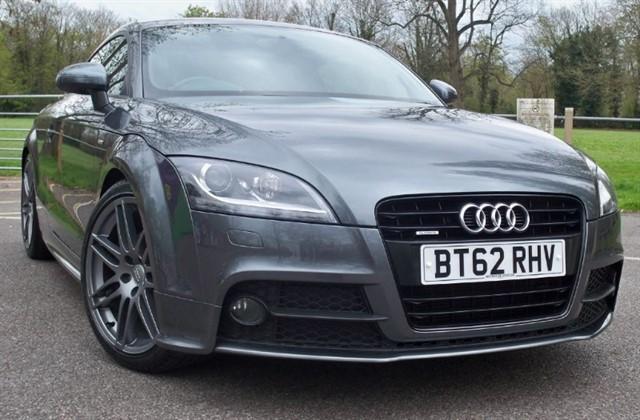 used Audi TT Tdi Quattro S Line Black Edition [177] (COLOUR SAT NAV+ !!) in chertsey-surrey
