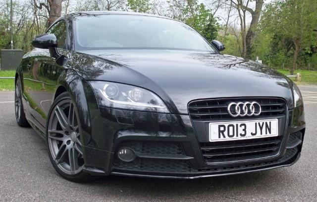 used Audi TT T FSi S Line Black Edition [211] (SAT NAV+ !! GREAT SPEC !!) in chertsey-surrey