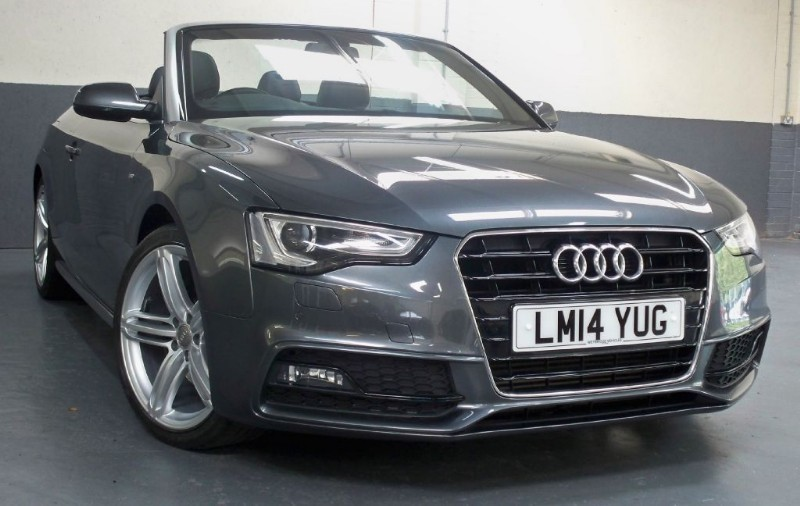 used Audi A5 T FSi S Line Special Edition [225] (HUGE SPEC !!) in chertsey-surrey