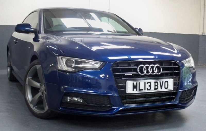 used Audi A5 Tdi Quattro S Line Black Edition [177] (GORGEOUS !!) in chertsey-surrey