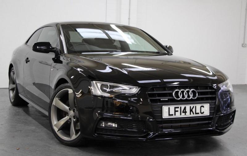 used Audi A5 T FSi Quattro S Line Black Edition [225] (RARE CAR !! HUGE SPEC !!) in chertsey-surrey