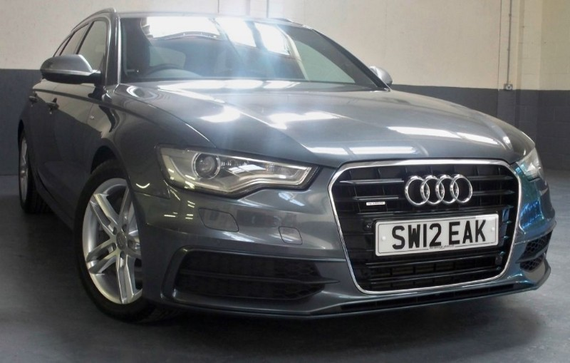 used Audi A6 Avant Tdi Quattro S Line [245] (BEAUTIFUL EXAMPLE !!) in chertsey-surrey