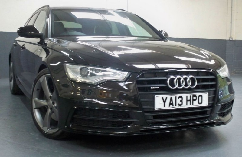 used Audi A6 Avant Tdi Quattro S Line Black Edition [245] (HUGE SPEC !!) in chertsey-surrey