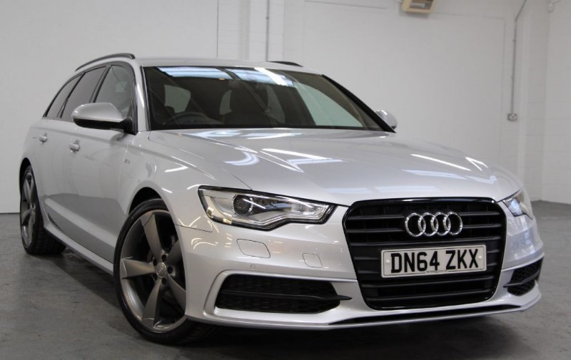used Audi A6 Avant Tdi Ultra S Line Black Edition [190] (JUST STUNNING !!) in chertsey-surrey