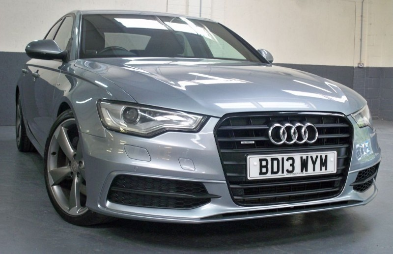 used Audi A6 Tdi Quattro S Line Black Edition [245] (FANTASTIC SPEC !!) in chertsey-surrey