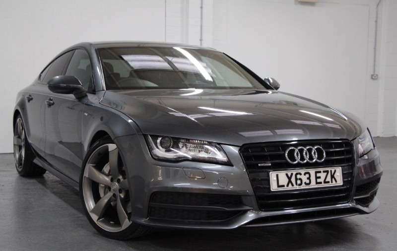 used Audi A7 T FSi Quattro S Line Black Edition [310] (EXTREMELY RARE !!) in chertsey-surrey
