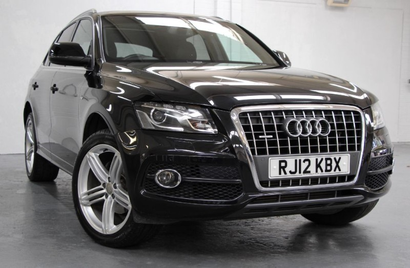 used Audi Q5 Tdi Quattro S Line Plus [177] (PAN ROOF !! HDD 3G SAT NAV+ !!) in chertsey-surrey