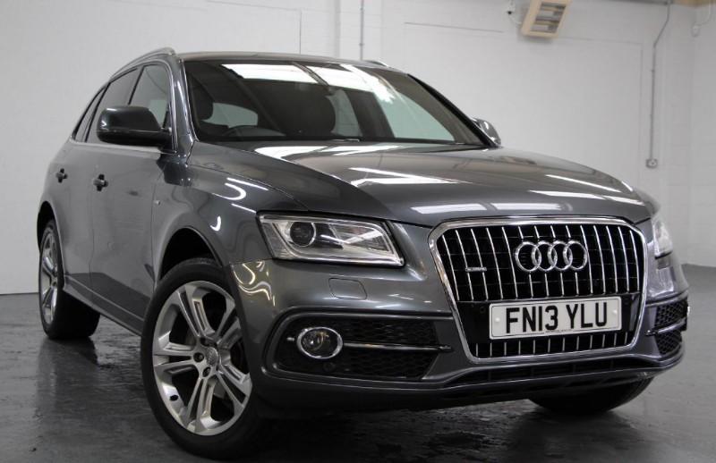 used Audi Q5 Tdi Quattro S Line Plus [177] (PAN ROOF !! HUGE SPEC !!) in chertsey-surrey