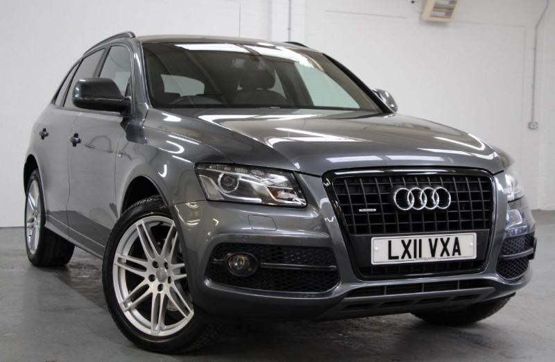 used Audi Q5 Tdi Quattro S Line Plus [245] (HUGE SPEC !!) in chertsey-surrey