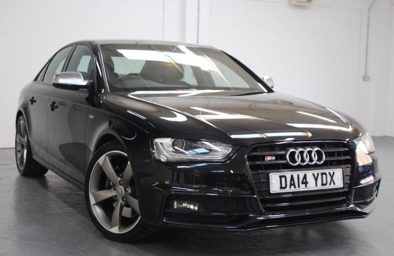 used Audi S4 T FSi Quattro Black Edition [333] (HDD 3G SAT NAV+ !!) in chertsey-surrey