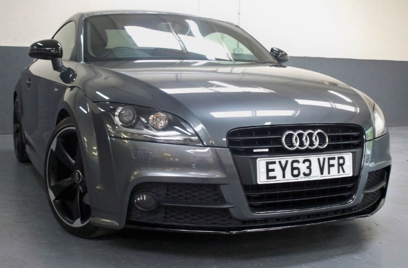 used Audi TT T FSi Quattro Amplified Black Edition [211] (HUGE SPEC !!) in chertsey-surrey