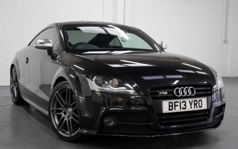 used Audi TTS T FSi Quattro Black Edition [270] (HUGE SPEC !! SAT NAV+ !!) in chertsey-surrey