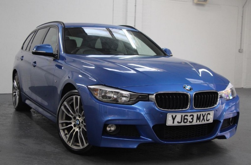 """used BMW 330d XDRIVE M SPORT TOURING [258] (SAT NAV !! 19"""" ALLOYS !! LEATHER !!) in chertsey-surrey"""