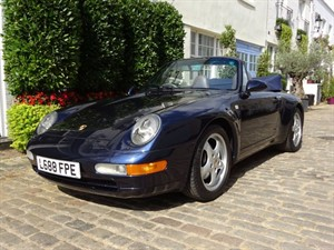 used Porsche 911 993 Carrera 2 Cabriolet Manual in london