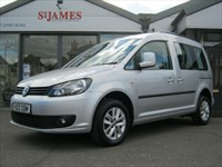 Used VW Caddy LIFE TDI 5dr DSG ++WHEELCHAIR ACCESS VEHICLE++