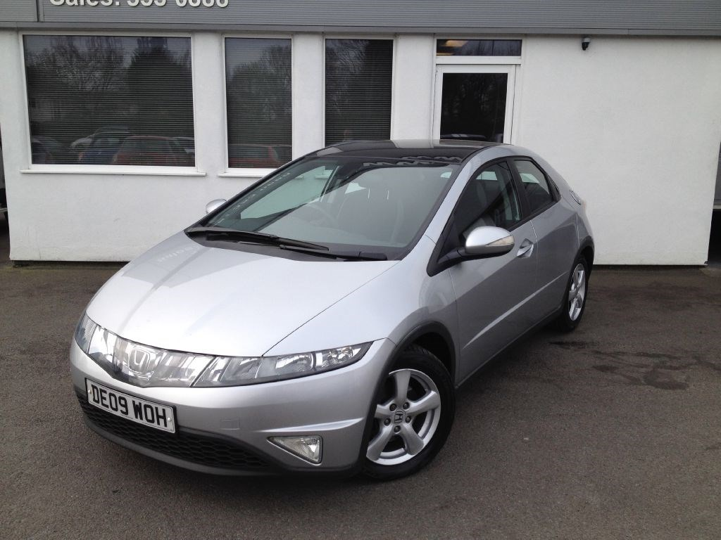 Honda civic es i ctdi panoramic sunroof in south wirral for Honda civic sunroof