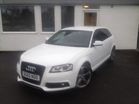 used Audi A3 SPORTBACK TDI S LINE BLACK EDITION 170 BHP 5 DOOR in cheshire