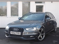 used Audi A4 Avant TDI 170 S-Line Black Edition in cheshire
