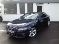 used Audi A4 TDI S LINE 8 Speed Multitronic  *Black leather* in cheshire