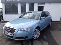used Audi A6 Avant TDI LIMITED EDITION *Black Leather/Sat Nav* in cheshire