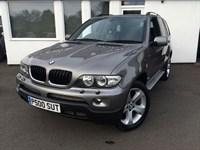 Used BMW X5 D SPORT **Sat/Nav-Black Leather**