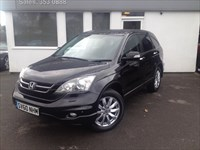 used Honda CR-V I-DTEC ES *Black Leather* in cheshire