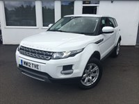 used Land Rover Range Rover Evoque ED4 PURE *BLACK LEATHER+DAB+BLUETOOTH+CRUISE+HEATED SEATS* in cheshire