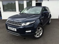 used Land Rover Range Rover Evoque TD4 PURE *Panoramic Sunroof+Ivory Leather+DAB* in cheshire