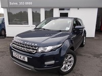 used Land Rover Range Rover Evoque SD4 PURE TECH 190bhp in cheshire