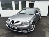 used Mercedes C220 CDI BLUEEFFICIENCY SPORT ED125 *MASSIVE SPECIFICATON incl COMMAND+SUNROOF+* in cheshire