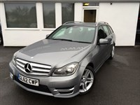 used Mercedes C220 CDI BLUEEFFICIENCY AMG SPORT in cheshire