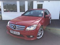 used Mercedes C220 CDI BLUEEFFICIENCY SPORT in cheshire