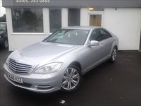 used Mercedes S350 CDi BLUETEC - SAT NAV - B'TOOTH - REV CAMERA  in cheshire