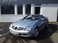 used Mercedes SLK200 SLK200 KOMPRESSOR**Black Leather**       in cheshire