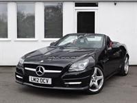 used Mercedes SLK200 SLK SLK200 BLUEEFFICIENCY AMG SPORT *Black Leather* in cheshire