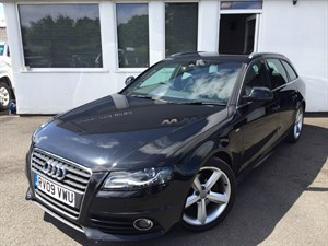 used Audi A4 Avant TDI S LINE 170 DPF in cheshire