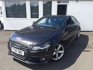 used Audi A4 TDI S LINE in cheshire