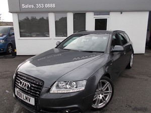 used Audi A6 Avant S LINE 170 SPECIAL EDITION Big Spec - Extended Media Package+Nav+TV+DAB+BT in cheshire
