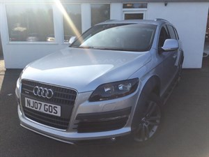 used Audi Q7 TDI QUATTRO LIMITED EDITION in cheshire