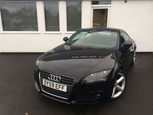 used Audi TT TFSI S LINE**Half Black Leather** in cheshire