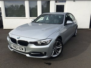 used BMW 320d SPORT **NEW SHAPE**Black Leather/Upgraded Alloys* in cheshire
