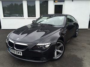 used BMW 635d SPORT *Ivory Leather* in cheshire