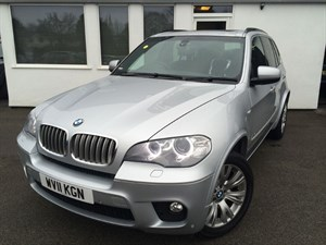 used BMW X5 XDRIVE40D M SPORT*Pan Roof/Heated Seats/SatNav* in cheshire