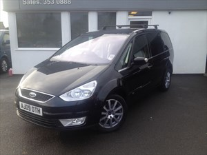 used Ford Galaxy GHIA TDCI **Full Service History** in cheshire