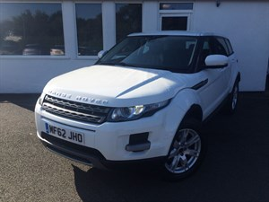 used Land Rover Range Rover Evoque ED4 PURE *Black Leather+1 Owner+Full L Rover History- just serviced* in cheshire